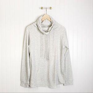 32 degrees heat gray cowl neck sweater M